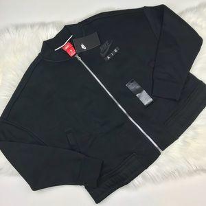 Nike Jackets & Coats - Nike Air Cropped Sportswear Jacket Black Medium